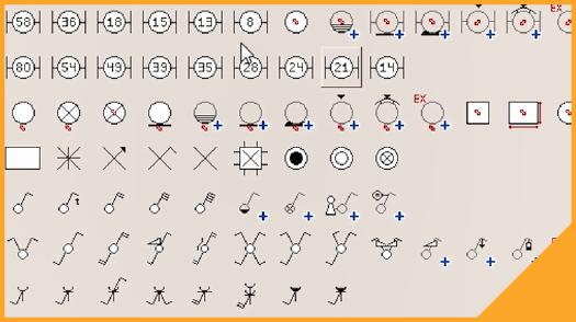 E learning E Symbolen plaatsen