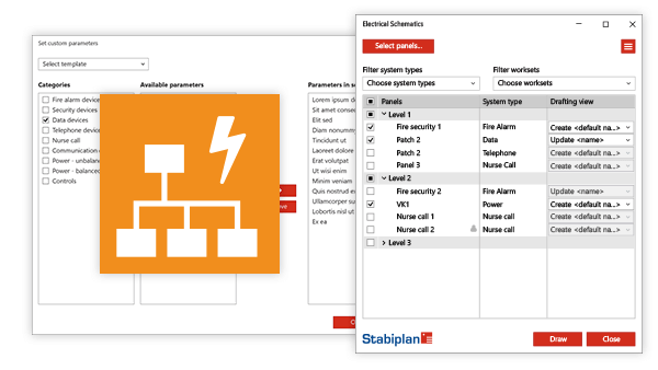 stabiplan electrical schematics app rh stabiplan com electrical schematic review suggestions Revit Electrical Families