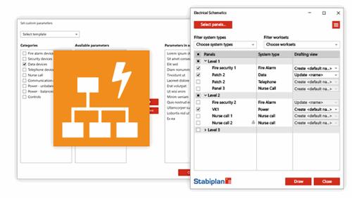 Stabiplan Electrical Schematics app